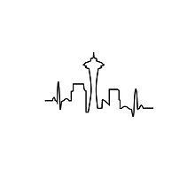 Seattle Skyline by suecbynn