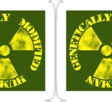 Genetically Modified Human Sticker
