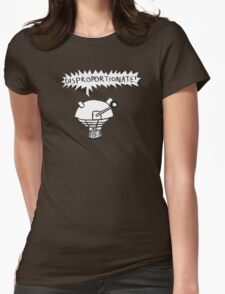 dalek -disproportionate! 2 Womens Fitted T-Shirt