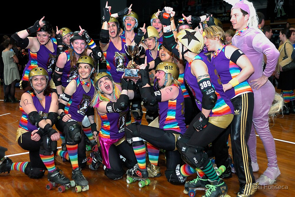 Winners are Grinners | Team Unicorn Champions | 2012 by Bill Fonseca
