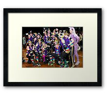 Winners are Grinners | Team Unicorn Champions | 2012 Framed Print