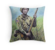 US Paratrooper 82nd Airborne Throw Pillow