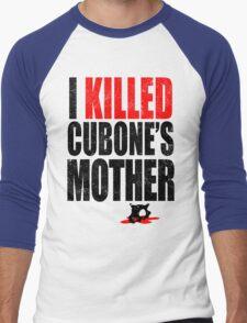 I *KILLED* CUBONE'S MOTHER Men's Baseball ¾ T-Shirt