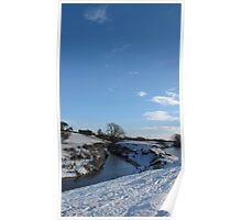 Winter Swale Poster