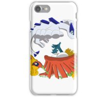 Ho oh and Lugia iPhone Case/Skin