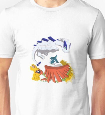 Ho oh and Lugia Unisex T-Shirt
