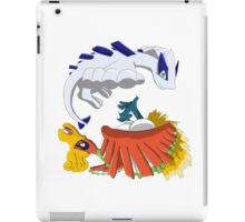 Ho oh and Lugia iPad Case/Skin