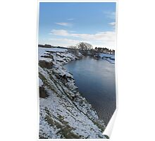 Winter Swale 2 Poster
