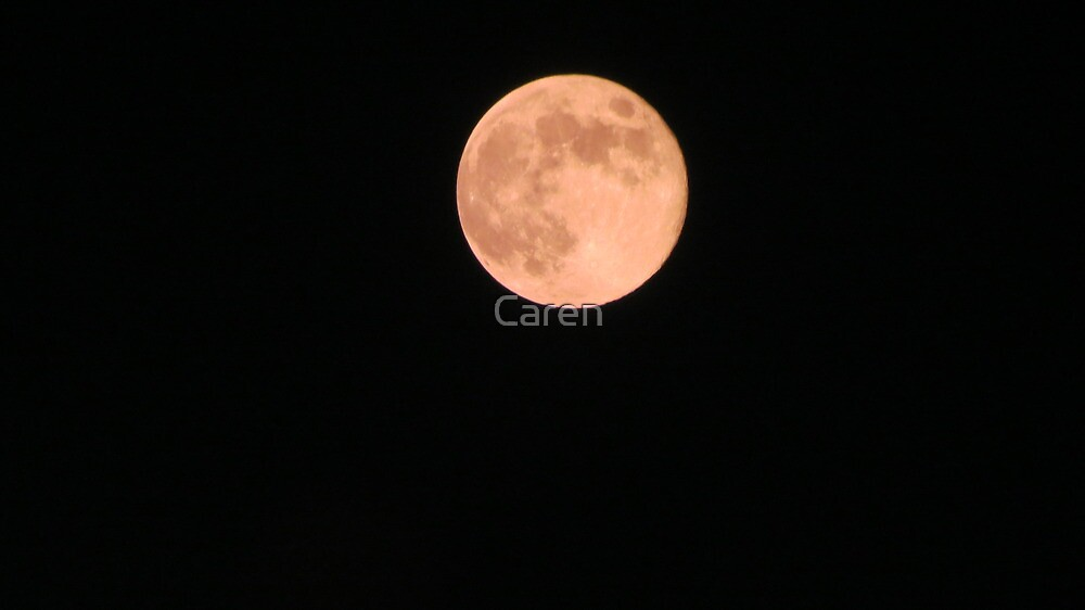 Once in a Blue Moon by Caren