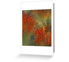 Abstract.10 Greeting Card