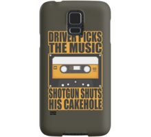 SUPERNATURAL - Driver Picks the Music.. Samsung Galaxy Case/Skin