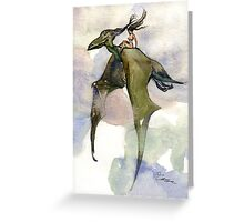 Hopper Greeting Card