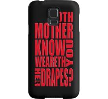 AVENGERS - Doth Mother Know... Samsung Galaxy Case/Skin
