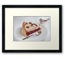 Sweet dessert  Framed Print