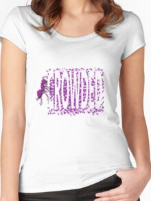 Crowded Women's Fitted Scoop T-Shirt