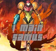 I MAIN SAMUS by Tyy Stone