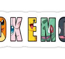 Pokemon Text Sticker