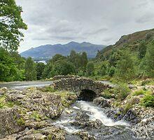 Ashness Bridge In August by Jamie  Green