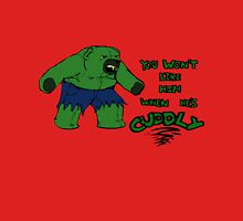 The Cuddleable Hulk Unisex T-Shirt