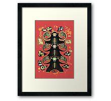 Traffic light monkey  Framed Print