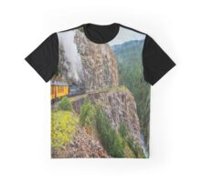 Mountain Top Train Ride Graphic T-Shirt