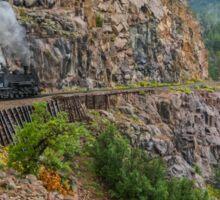 Mountain Top Train Ride Sticker