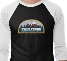 Twin Peaks Sheriff Dept.  Men's Baseball ¾ T-Shirt
