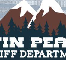 Twin Peaks Sheriff Dept.  Sticker