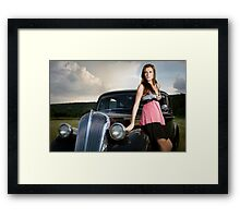 Rich toy. Framed Print