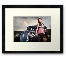 Elegant beauties. Framed Print