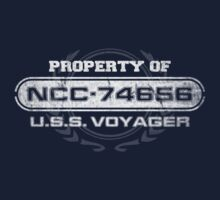 Property Of USS Voyager (WG) by justinglen75