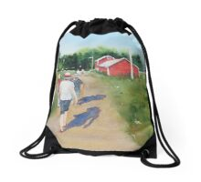 Painting Expedition Drawstring Bag