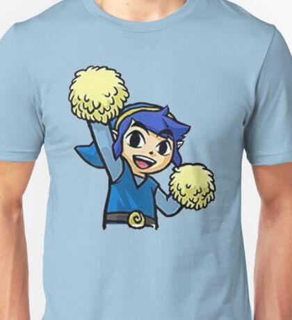 Legend of Zelda - Pom pom Link (Blue) Unisex T-Shirt