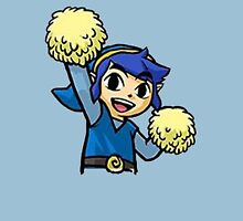 Legend of Zelda - Pom pom Link (Blue) Unisex T-Shirt