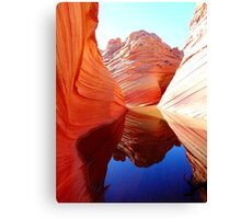 Red Rock Reflection Canvas Print