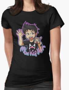 Markiplier - Hello Everybody! Womens Fitted T-Shirt