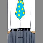 guy in a tie phone by Matthew Scotland