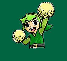 Legend of Zelda - Pom pom Link (Green) Unisex T-Shirt
