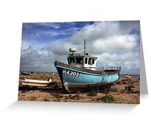 Washed Up & Weathered  Greeting Card