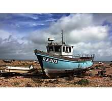 Washed Up & Weathered  Photographic Print