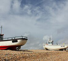 Fishing Boat Trio by Anthony  Poynton