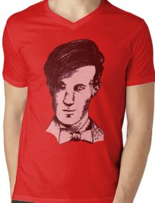 The 11th Doctor - Drawing  Mens V-Neck T-Shirt