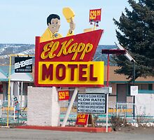 El Kapp motel in Raton, New Mexico by photocat1311