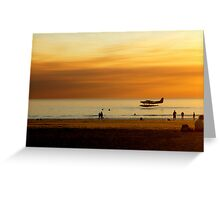 Soft Landing in Broome Greeting Card
