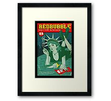Red Fiction Framed Print