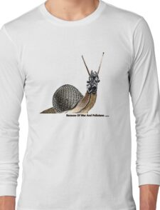 War & pollutants Long Sleeve T-Shirt