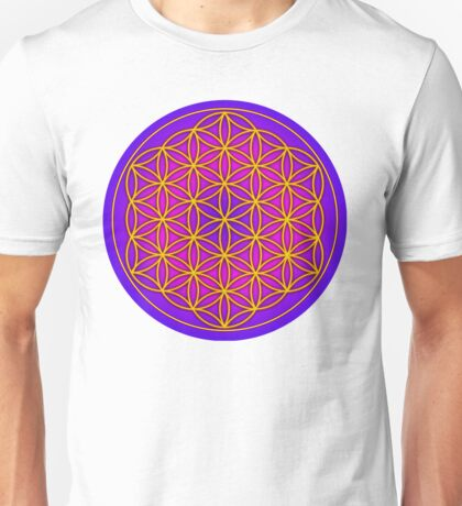 Flower of Life Sacred Geometry Unisex T-Shirt