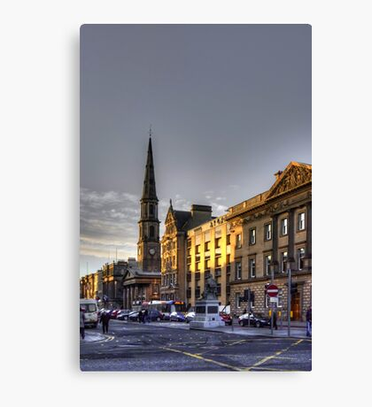 The East End of George Street Canvas Print
