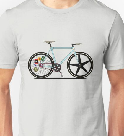 Fixie Bike Unisex T-Shirt