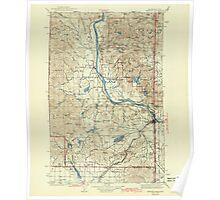 USGS Topo Map Washington State WA Newport 242813 1942 125000 Poster